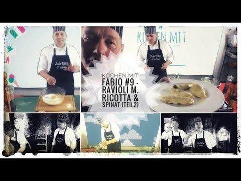 Kochen mit Fabio #9- Ravioli m. Ricotta & Spinat (2. Teil)