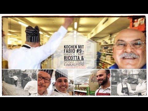 Kochen mit Fabio #9 - Ravioli mit Ricotta & Spinat (Teil1 Einkaufen)
