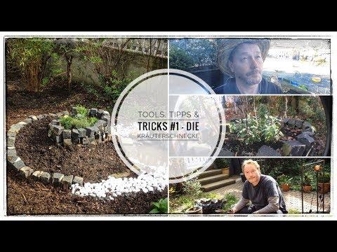 Tools, Tipps & Tricks #1 - die Kräuterschnecke