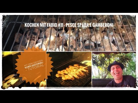 Kochen mit Fabio #11 - Pesce Spada e Gamberoni